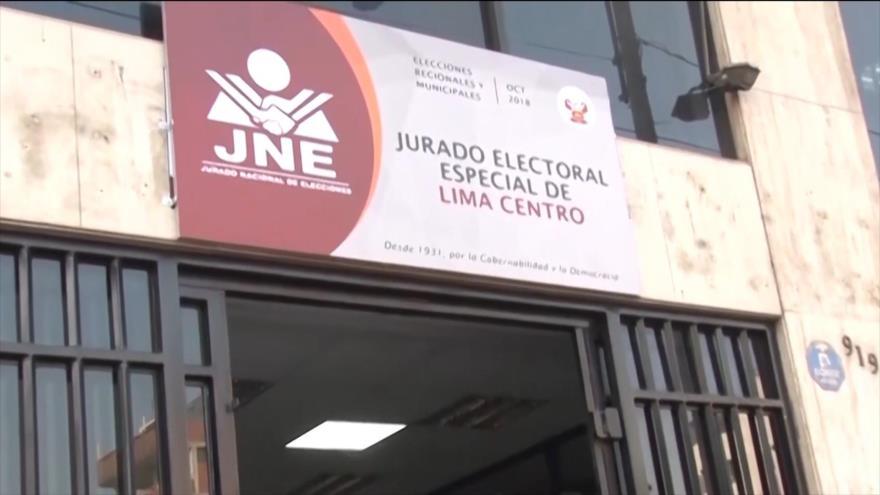 JNE aprueba cronograma para elecciones congresales en Perú