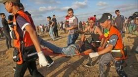 Represión israelí en Gaza deja 49 heridos, incluidos 22 niños