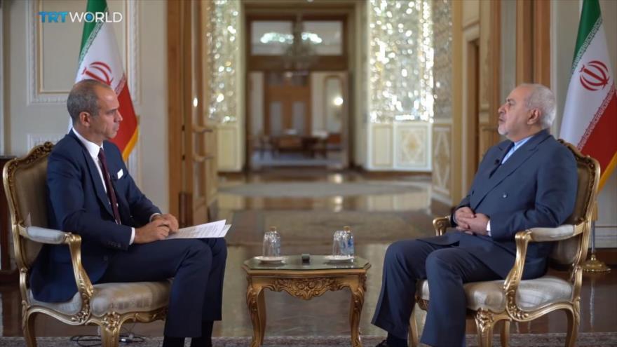 Zarif: Sanciones de EEUU son una especie de guerra contra pueblo iraní