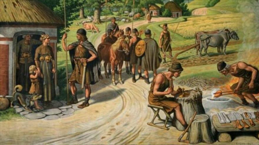 Un estudio sugiere que los ricos de la Edad de Bronce se hacían enterrar junto con sus sirvientes.