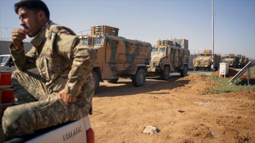 Fuerzas turcas ocupan ciudad de Ras al-Ain en el noreste de Siria | HISPANTV