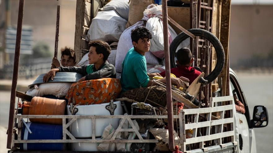 Sondeo: Crisis humanitaria, resultado de la agresión turca en Siria | HISPANTV