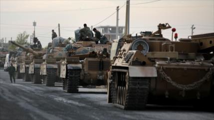 """LA insta a Turquía a sacar """"inmediatamente"""" sus tropas de Siria"""