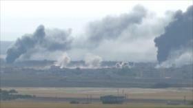 Continúa ofensiva militar de Turquía en el norte de Siria