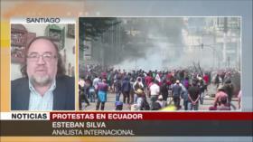 Silva: Lenín Moreno no puede asegurar la gobernabilidad del país