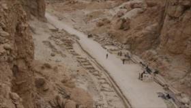 Hallan en Egipto una zona industrial de 3000 años de antigüedad