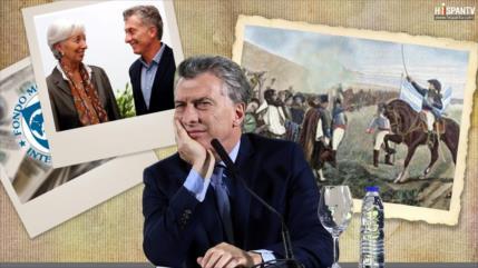 El FMI, MACRI Y SU MEGALOMANÍA
