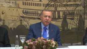 Erdogan no renuncia a su agresión militar contra Siria