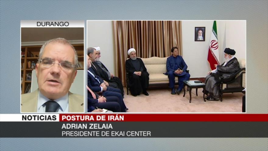 Zelaia: Irán no es una nación fácil de ser invadida por Occidente