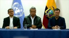 Discurso de Líder iraní. Agresión contra Siria. Crisis en Ecuador