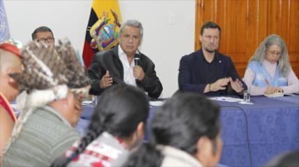 Moreno da marcha atrás y anula polémico decreto que causó protestas