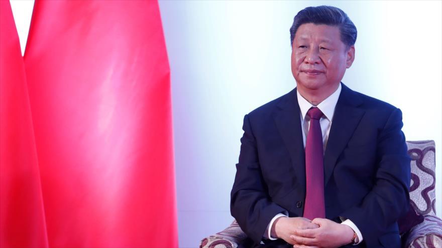 El presidente de China, Xi Jinping, en un acto en Katmandú, Nepal, 13 de octubre de 2019. (Foto: The Rising Nepal)