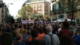 Vídeo: Protestas en Cataluña tras la sentencia del 'procés'