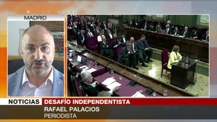 Palacios: Sentencias a líderes catalanes agravan la crisis | HISPANTV