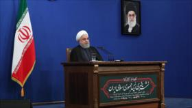Rohani da por fracasados los complots de EEUU e Israel contra Irán