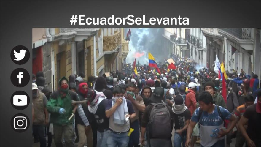 Etiquetaje: Ecuador se levanta