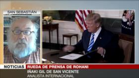 Gil: Trump sigue la política de presionar más a Irán