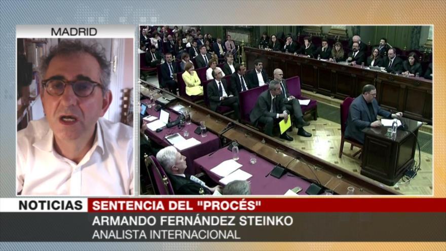 Steinko: Sentencia a líderes catalanes puede dividir a soberanistas