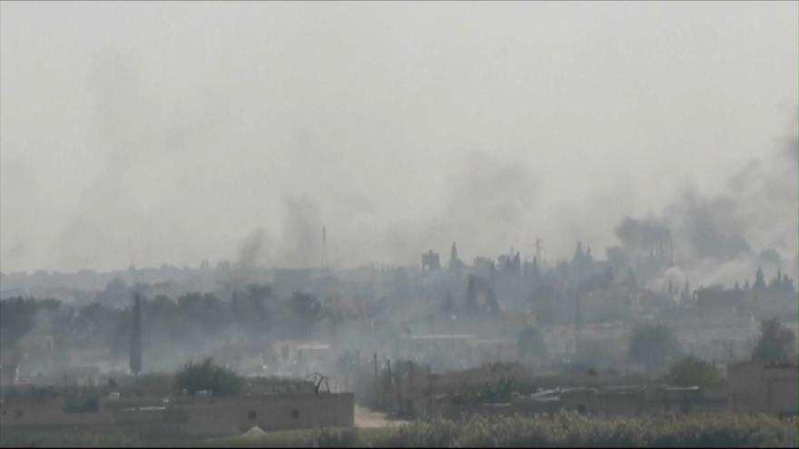 Ejército sirio despliega tropas para enfrentar la agresión turca