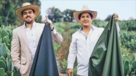 Jóvenes mexicanos inventaron primera piel orgánica hecha de nopal