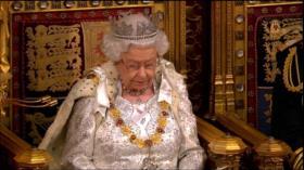 Reina Isabel dice que Brexit para octubre es prioridad de país
