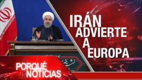 El Porqué de las Noticias: Irán y pacto nuclear. Agresión turca en Siria. Independentistas en España