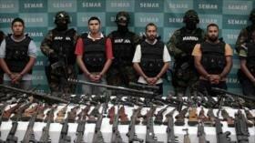 70 % de armas usadas por grupos criminales en México viene de EEUU