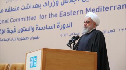 """Irán tacha sanciones de EEUU de """"crimen contra la humanidad"""""""