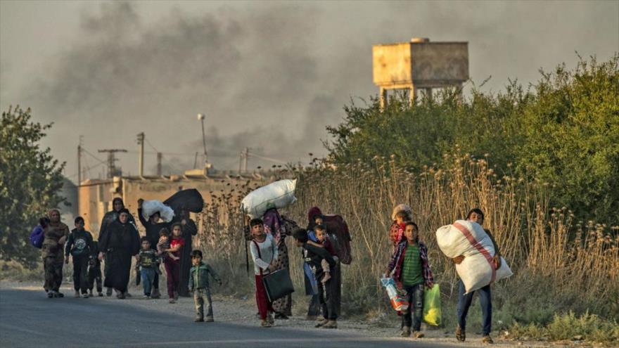 ONU estima: 400 000 desplazados precisan de ayuda en norte de Siria | HISPANTV