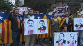 Crecen las protestas en Barcelona tras la sentencia del 'procés'