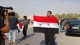 Vídeo: Sirios celebran llegada del Ejército a Manbij