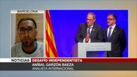 'Ha aumentado aparato represivo contra catalanes en España'