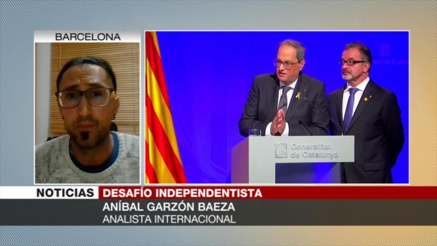'Ha aumentado aparato represivo contra catalanes en España' | HISPANTV