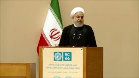 Rohani denuncia sanciones de EEUU contra el sector salud de Irán