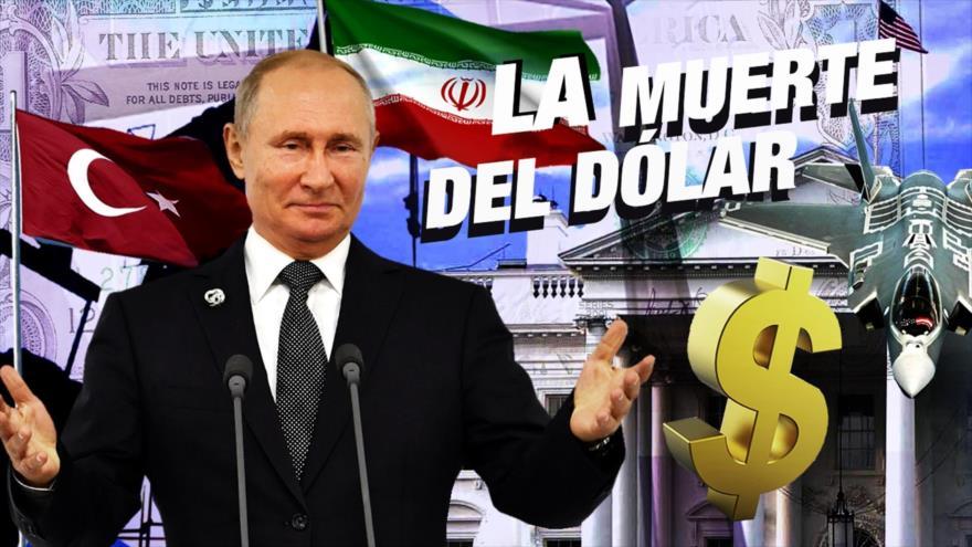 Detrás de la Razón: ¿Podrá Rusia, China e Irán matar el dólar de EEUU? ¿Es Putin vs Trump?