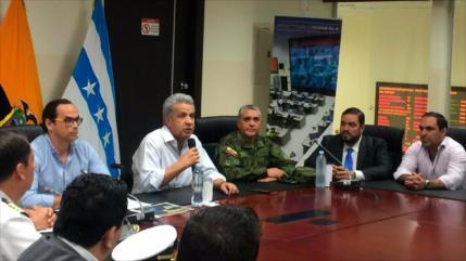 Lenín Moreno designa nuevos jefes en las Fuerzas Armadas