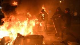 Gobierno de España denuncia violencia generalizada en protestas