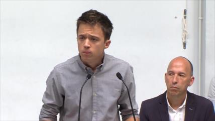 Errejón aboga por una solución política a problemas en Cataluña
