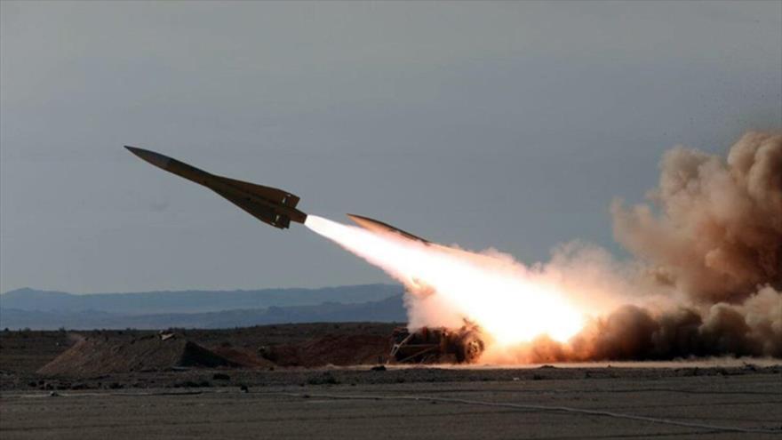 Rusia lanza un misil balístico intercontinental en el campo de pruebas de Kapustin Yar, en la región de Astracán, julio de 2019.