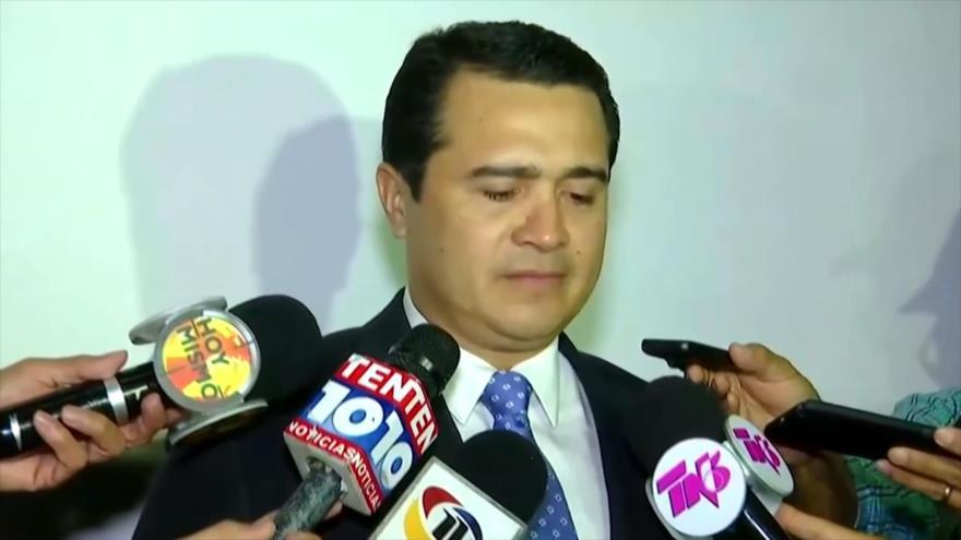 En Honduras repercute juicio de hermano del presidente