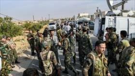 Vídeo: Ejército sirio toma una base militar de EEUU en Manbij