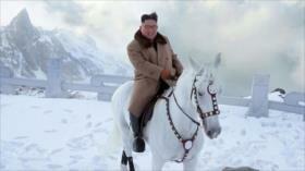 Kim monta un caballo blanco; ¿hay cambio en política norcoreana?