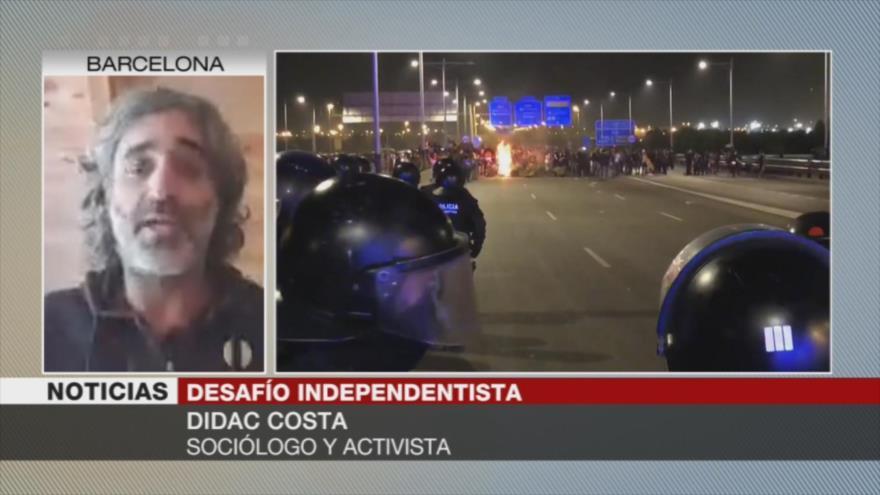 Costa: España no solventará tema catalán a través de la represión