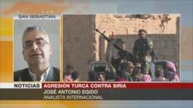 Egido: Ejército sirio recuperará pronto zonas atacadas por Turquía