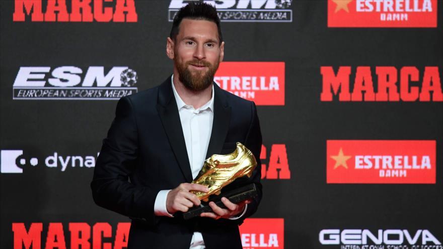 Lionel Messi gana 6.ª Bota de Oro como máximo goleador en Europa