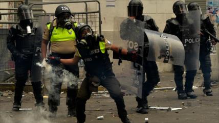 Amnistía exige investigar brutal represión de protestas en Ecuador