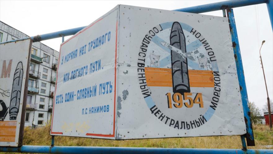 Base de Arjangelsk (Rusia).