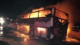 Accidente de tráfico deja 35 muertos y 4 heridos en Arabia Saudí
