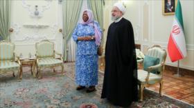 Irán urge consultas para poner fin a guerra en Yemen y Palestina