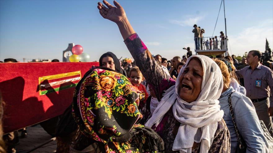 Ataque turco a Siria deja 71 civiles muertos y 300 000 desplazados | HISPANTV